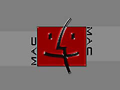 BIsleekRedMac.jpg Logos, Apple grey gray graphite red