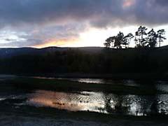 CLmeallGhoirleig.jpg Landscapes - Water sunrise sunset dawn dusk scotland united kingdom uk lakes ponds water loch silhouettes photography