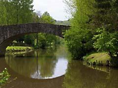 DDbridgeLehon.jpg Landscapes - Water Architecture bridge photography river creek stream water canals water