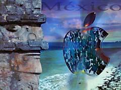 DRHmaccun.jpg Logos, Apple ocean water mexico native american maya aztec indian