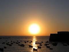 JBCcadizSunset.jpg Landscapes - Water sunrise sunset dawn dusk boats piers photography