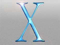 MJosxSteel.jpg Logos, Mac OS X aqua brushed aluminum quicktime
