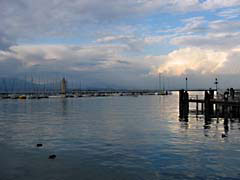 PAdesenzano.jpg Landscapes - Water clouds boats harbor photography