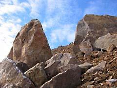 TMUrockHorizon.jpg clouds stones rocks Landscapes - Nature brown blue photography